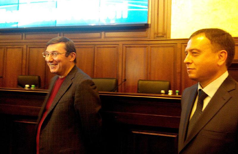 Луценко представил нового обвинителя Полтавской области