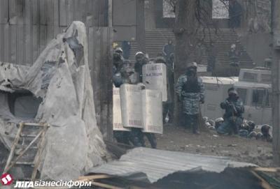 """Стало известно, из какого оружия """"Беркут"""" стреляет на Грушевского"""
