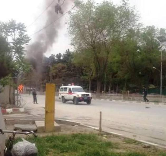 Смертник атаковал конвой НАТО, появились фото— Теракт вКабуле