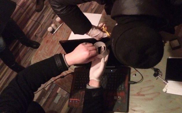 В Киеве полиция задержала организатора киберсети Avalanche: фото