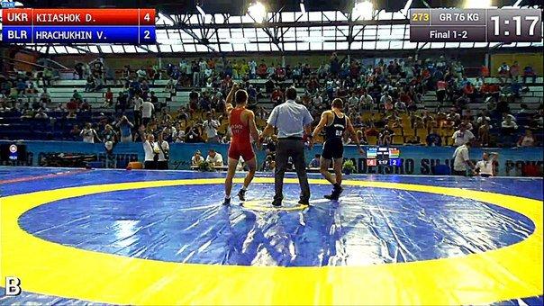 Борьба: украинские спортсмены взяли второе золото на ЧМ