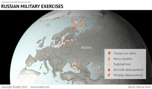 Stratfor: Военные учения РФ - предупреждение для НАТО