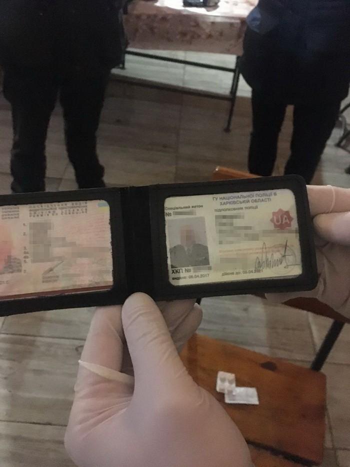 Под Харьковом СБУ задержала на взятке главу райотдела полиции