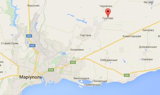 На Донетчине подорвалась на мине украинская БРДМ, военный погиб
