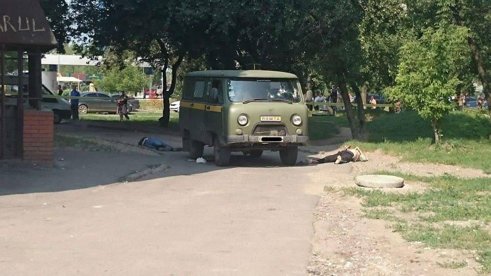 Нападение на почтовый автомобиль в Харькове: подробности и фото