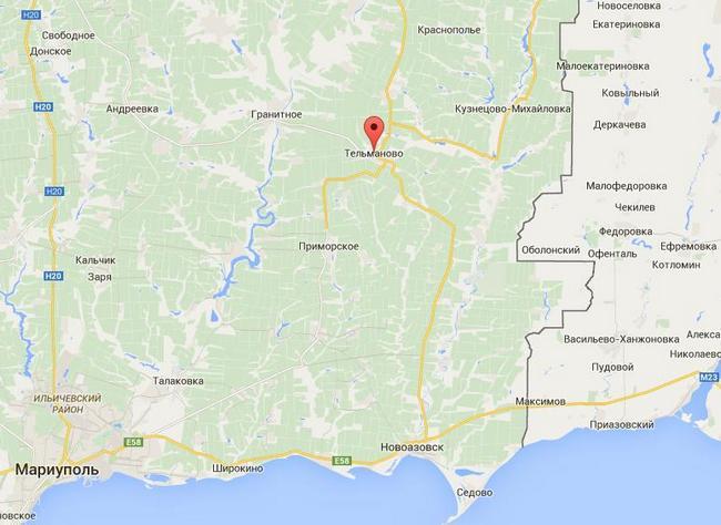 Боевики перебросили технику в район Тельманово и Новоазовска - ИС