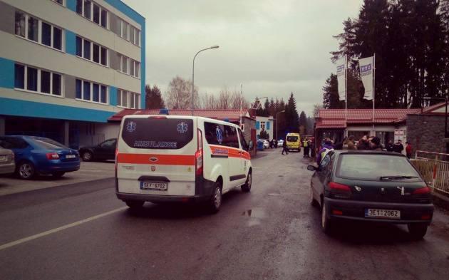 ВЧехии назаводе прогремели несколько взрывов, десятки раненных