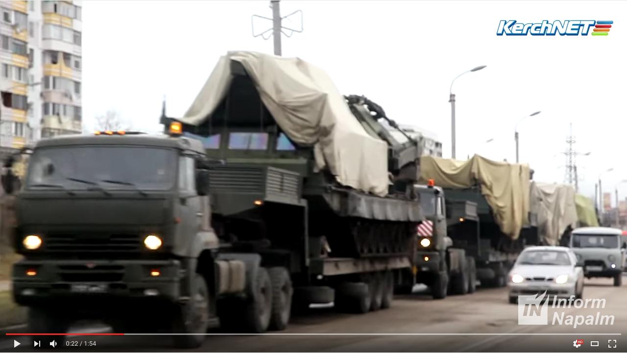 Волонтеры сообщают: РФ перебросила в Крым ЗРК С-300ВМ накануне ракетных испытаний Украины над Черным морем