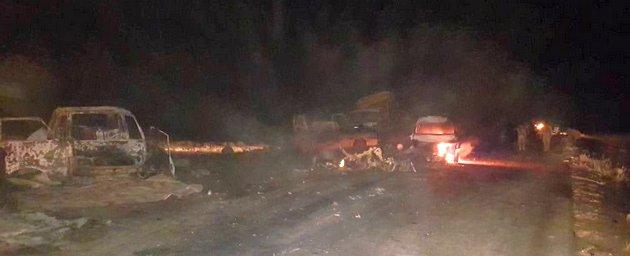 Джихадисты взорвали три авто в толпе беженцев: 50 погибших - фото