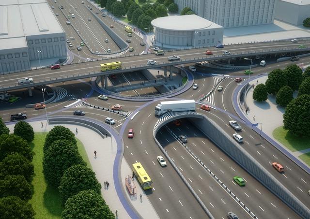 На Шулявке планируют создать новую развязку за 1,2 млн грн: фото