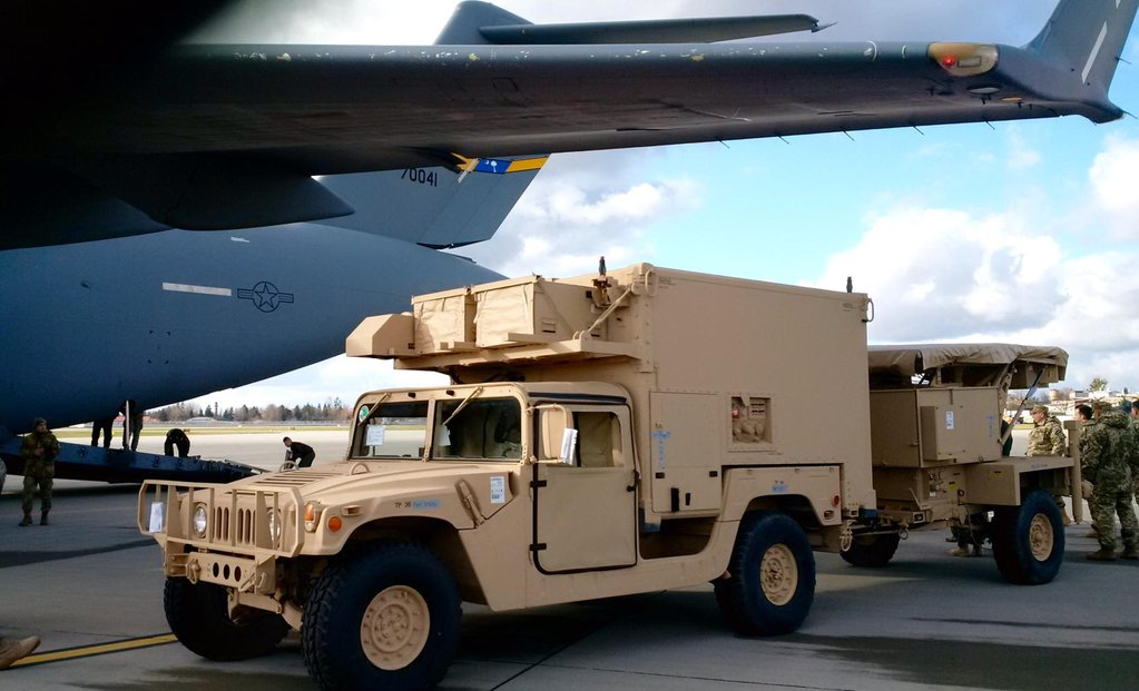 В Украину прибыли американские контрбатарейные радары