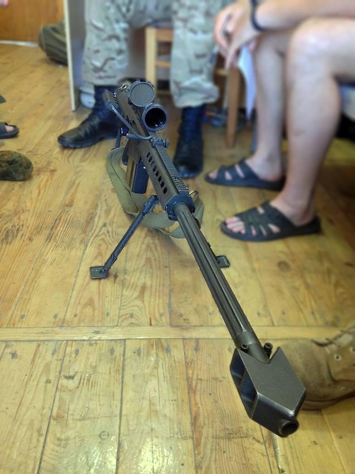 Снайперам в спецназе ВСУ нужна ночная насадка для прицела