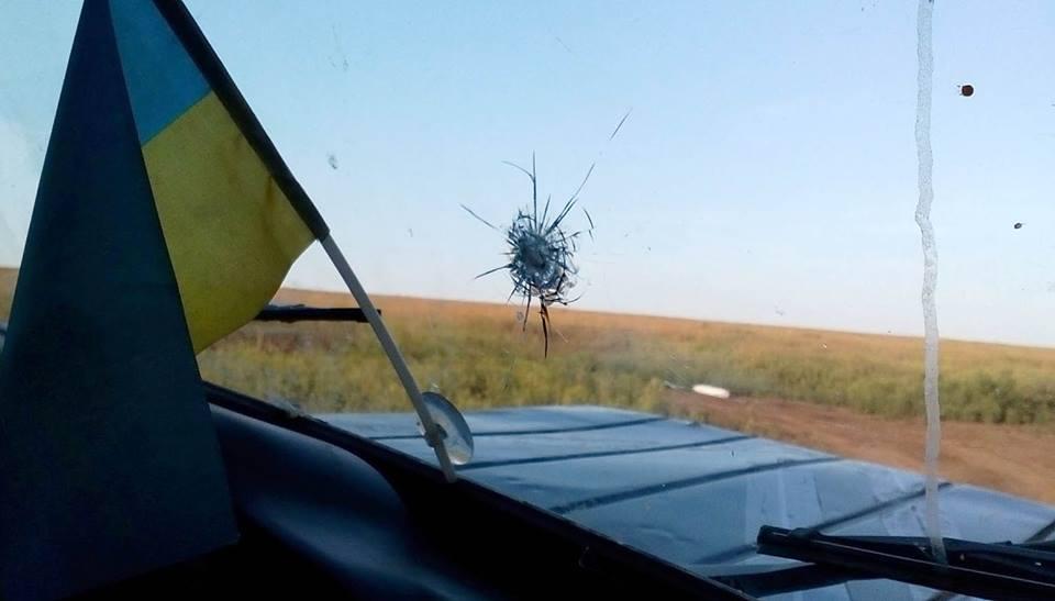 В Светлодарске боевики обстреляли украинских наблюдателей СЦКК
