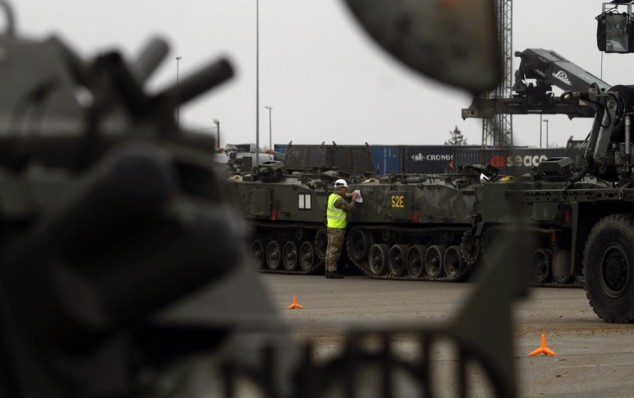 ВЭстонию прибыли все военнослужащие для нового батальона НАТО