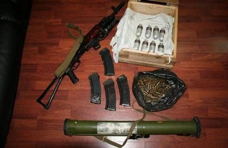 Задержанный боевик рассказал о подготовке в РФ: видео допроса