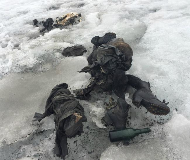 В Альпах нашли тела пропавших в 1942 году мужчины и женщины: фото