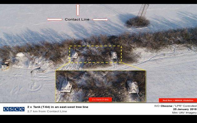 СММ ОБСЕ уличили ВСУ в несоблюдении минских договоренностей