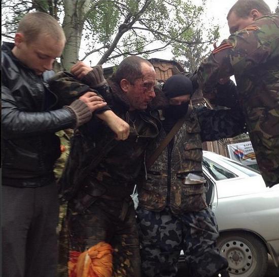Сепаратисты сбили вертолет над Славянском
