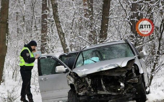 Умасштабному ДТП наХарківщині зіткнулися сім автомобілів