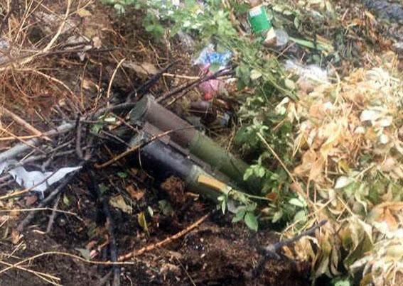 В центре Мариуполя правоохранители обнаружили тайник с оружием