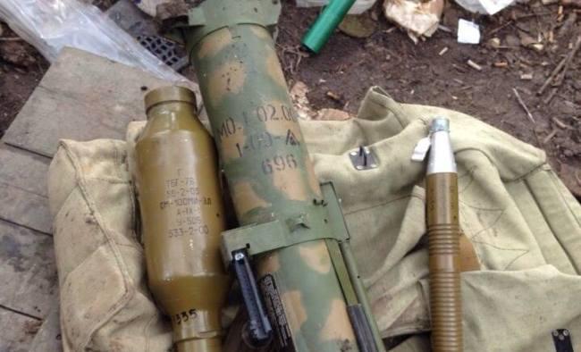 На Донетчине силы АТО сутки вели бой с террористами: фото