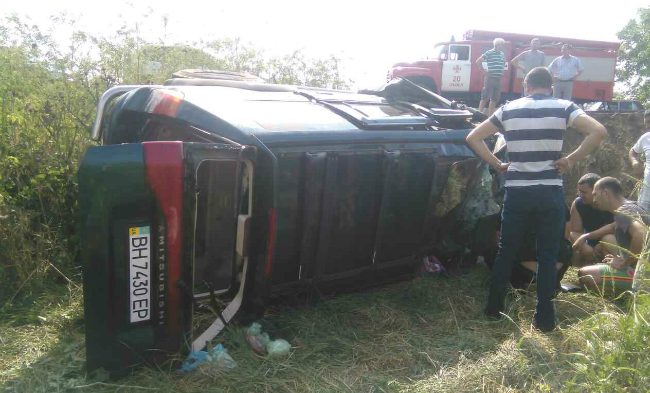 ДТП в Одесской области: погибли трое, двое детей травмированы