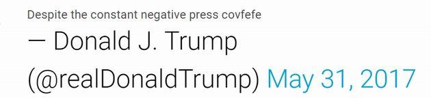 """Клинтон о """"covfefe"""" Трампа: Это скрытое послание для россиян"""