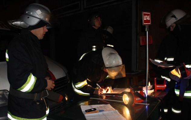 Пожар в Киеве: едва не взорвалось общежитие для переселенцев
