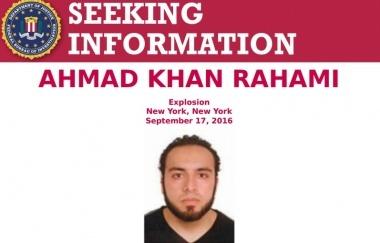 ФБР показало фото подозреваемого во взрыве в Нью-Йорке