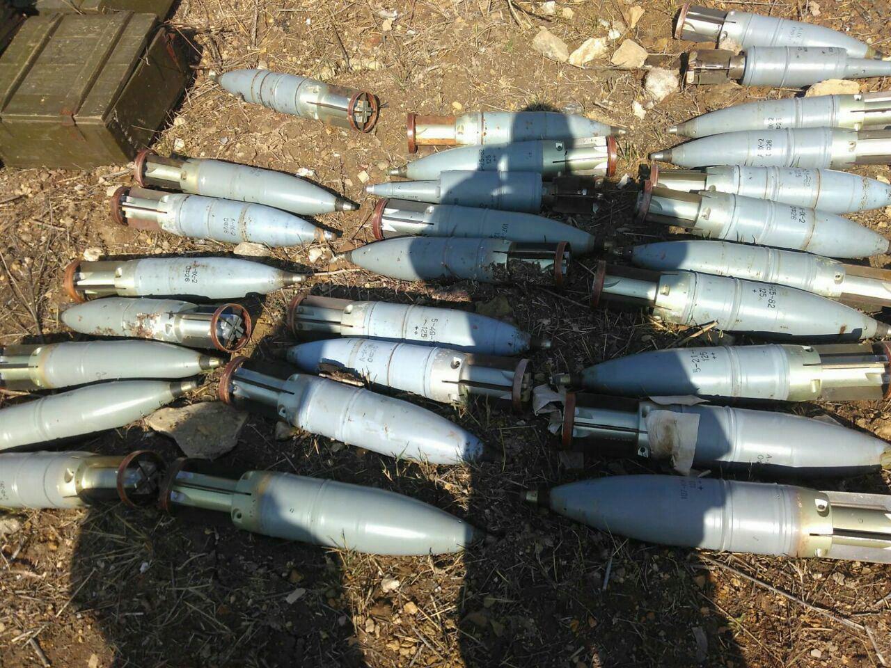 СБУ нашла в зоне АТО еще один схрон с оружием производства РФ
