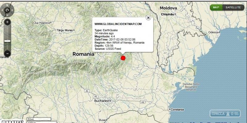 В Одесской области произошло землетрясение