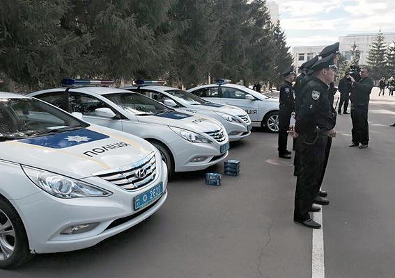 Полицейские приступили к патрулированию Житомирской трассы: фото