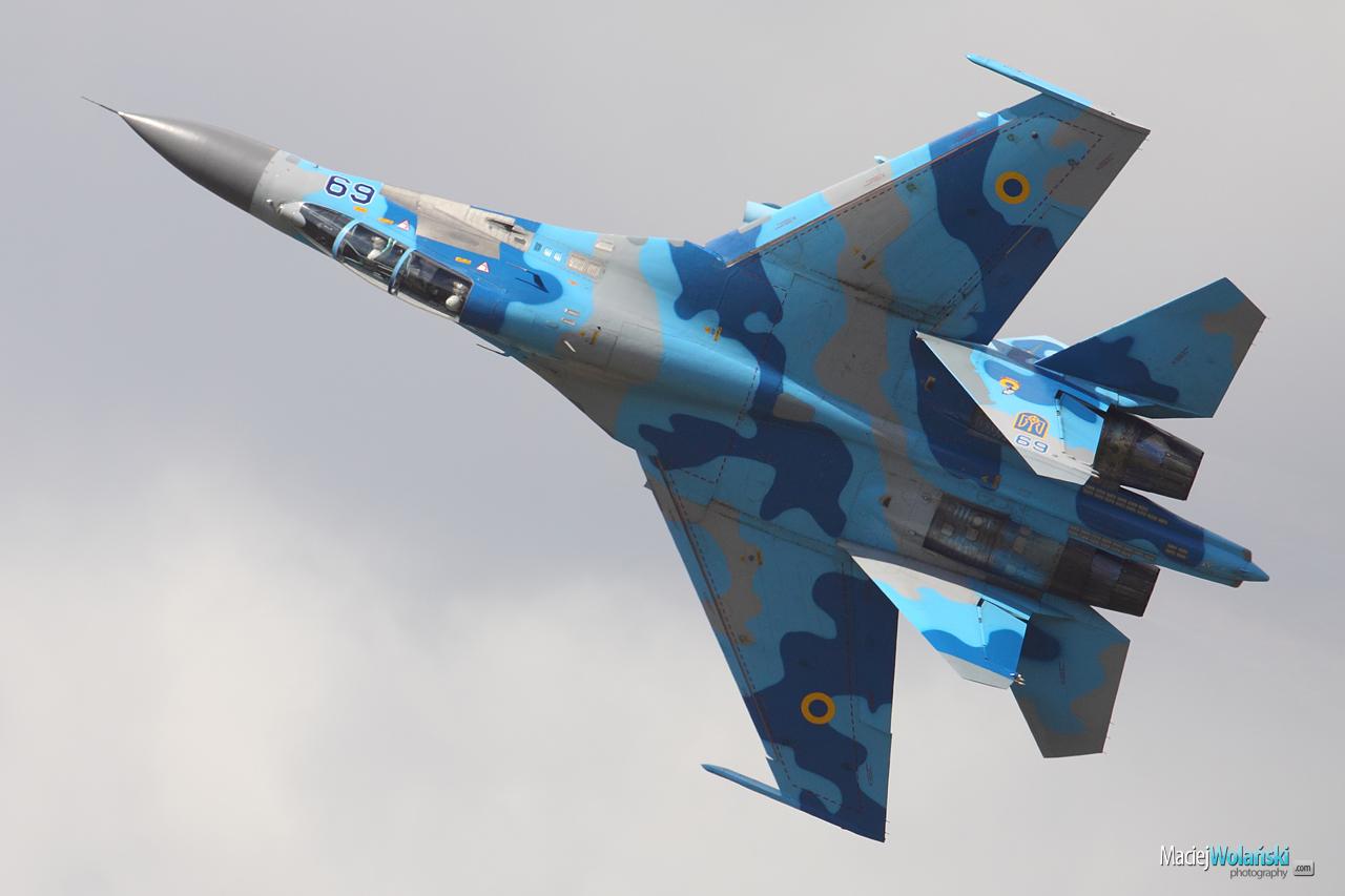 Украинские военные летчики примут участие в авиапоказе в Польше