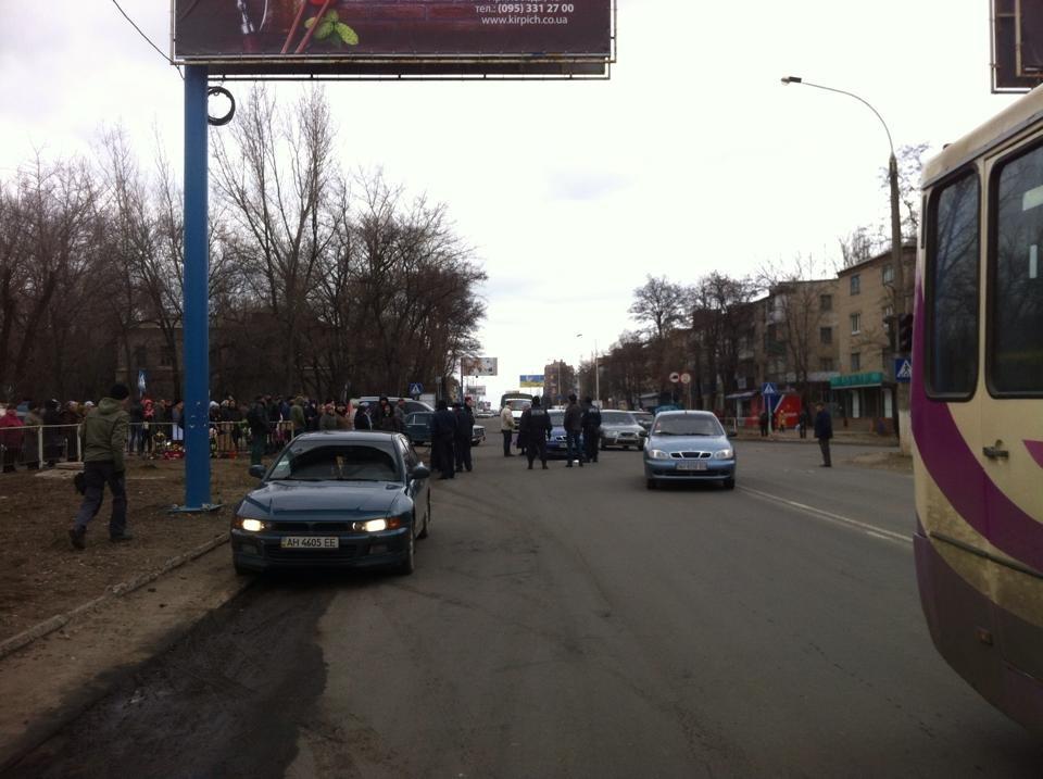 В Константиновке на месте ДТП произошла новая авария: фото