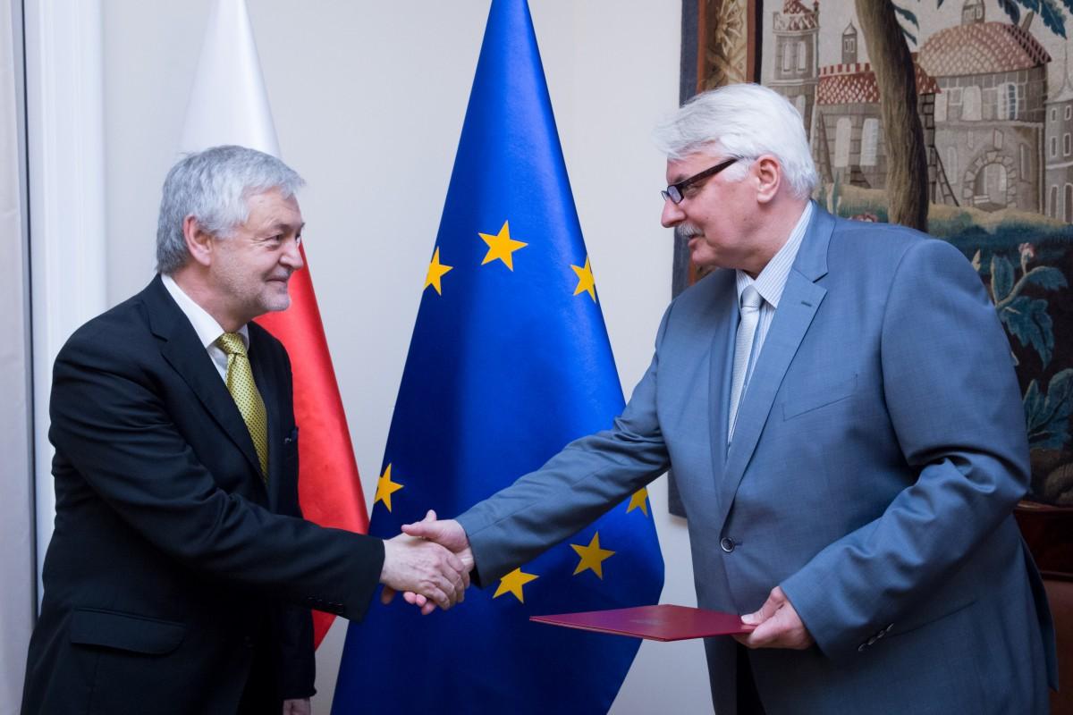 Новым послом Польши в Украине стал Ян Пекло