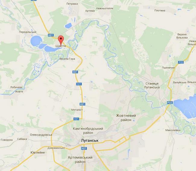 В район Счастья прибыло до 50 единиц бронетехники боевиков
