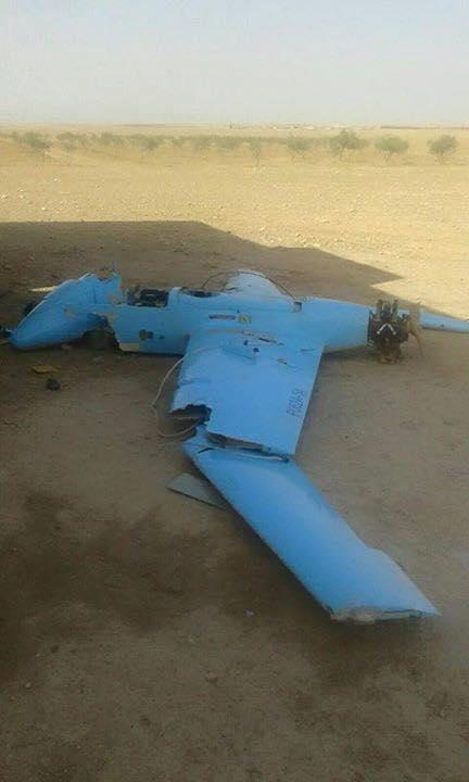 В Сирии повстанцы уничтожили российский беспилотник: фото