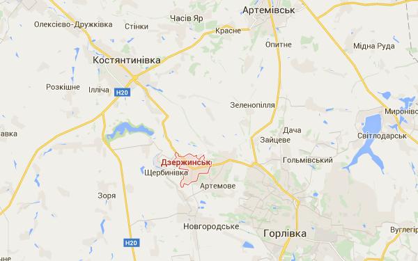 Террористы совершили артобстрел Дзержинска, есть погибшие