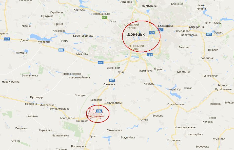 Жебривский: Из серой зоны под Донецком выводим 9 поселков