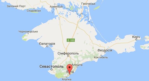 Ночью у берегов Ялты затонул плавучий кран, есть жертвы