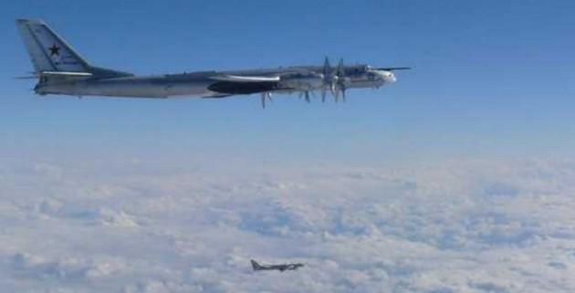 ВВС Японии сообщили овылете несопровождение бомбардировщиковРФ