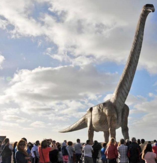 Тяжелее Boeing 737: найдены кости крупнейшего в истории динозавра