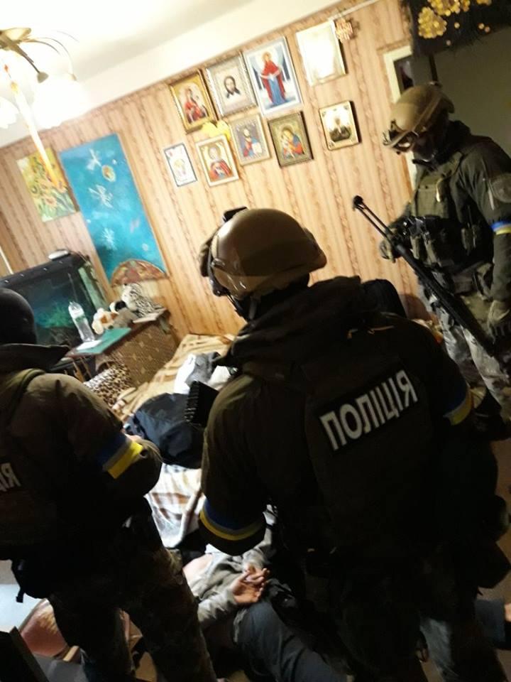 Вооруженное сопротивление в Днепре: подозреваемые задержаны