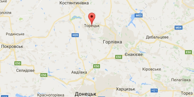 Боевики с утра обстреливают из минометов жилые дома Торецка