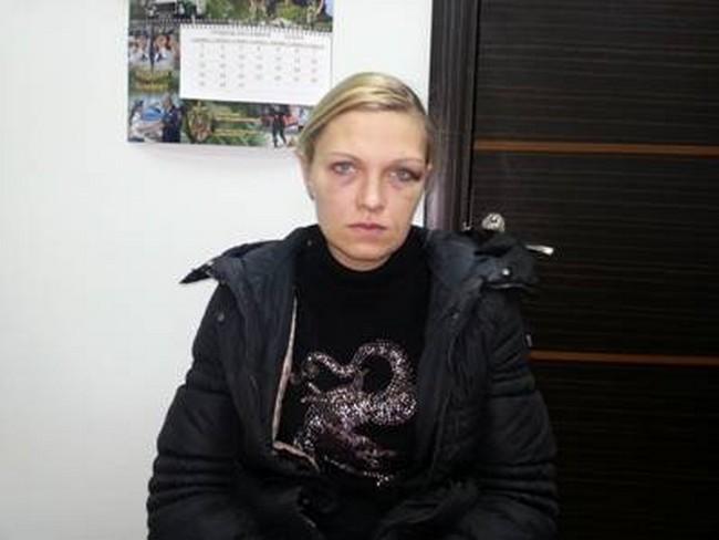 Видео допроса луганской террористки, готовившей теракт в Киеве
