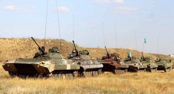 Батальонная группа 72-й бригады отправилась в зону АТО