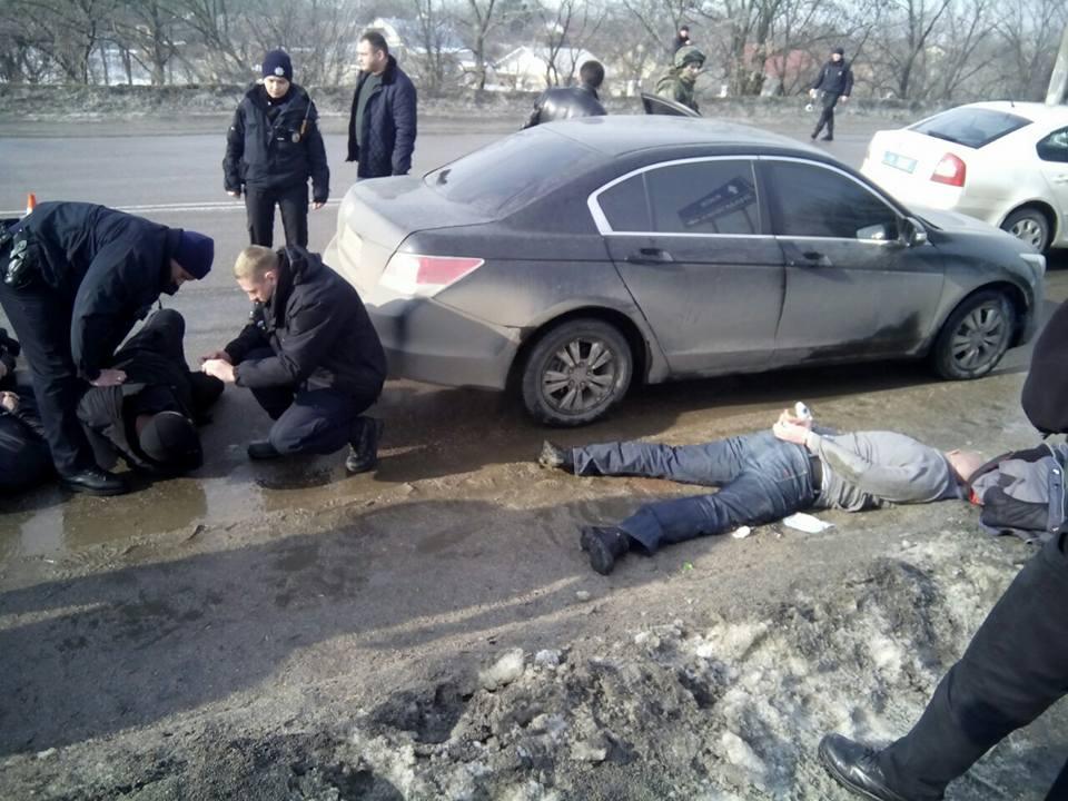 Здешние авторитеты устроили разборки— стрельба вКропивницком