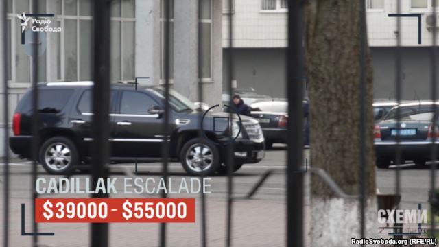 Руководство МВД ездит на джипах с номерами прикрытия: видео