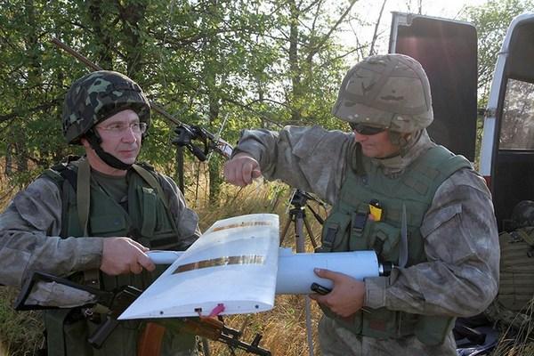 Силы АТО получили украинские беспилотники - Минобороны