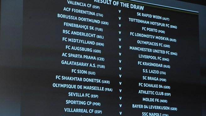 Лига Европы: Шахтеру в 1/16 финала достался немецкий Шальке